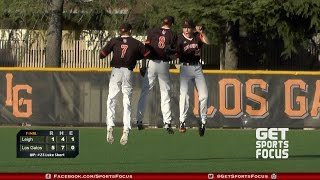 GSF Baseball | Los Gatos Wildcats vs Leigh Longhorns