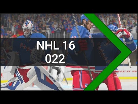 Let's Play NHL 16 [Xbox One] #022 Montreal Canadiens vs. New York Rangers