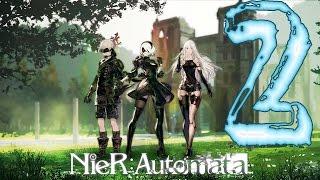 Nier Automata Stream Part 2 Skirtless B2!!