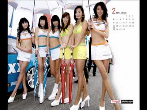 Girl xinh Korea Racing Girl