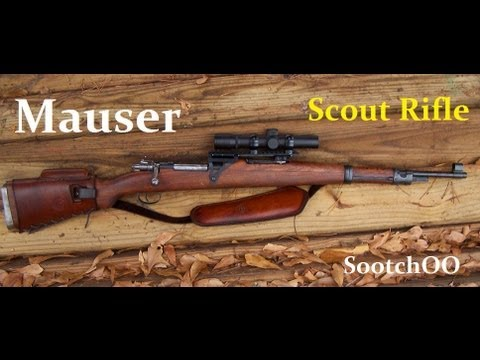 The Mauser Scout / Survival Rifle