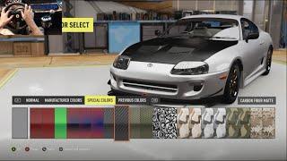 Video Forza Horizon 2 Twitter Drift Build - 2JZ Supra w/Thrustmaster Wheel Cam download MP3, 3GP, MP4, WEBM, AVI, FLV Desember 2017