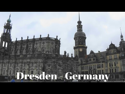 Royal Palace, museums and galleries in Dresden-Germany / du lịch Dresden Đức| traveling and Garden