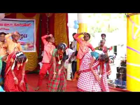 Nathu nada pogayila song Mela sakkudi primary school annual day 02-04-2018