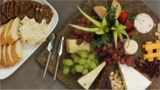 How to make a Holiday Cheese Platter