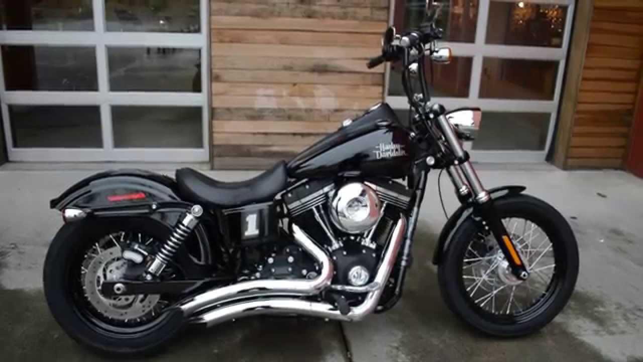 2015 Harley-Davidson FXDB Dyna Streetbob (302631) - YouTube