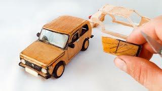как сделать ниву из дерева