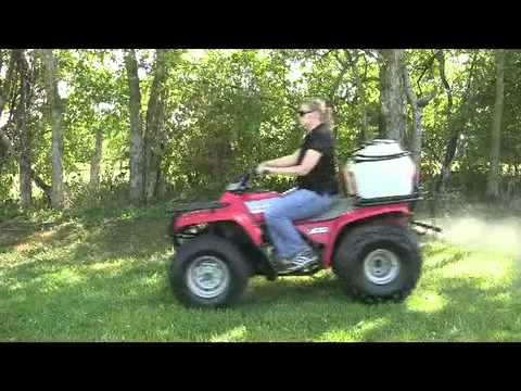 25 Gallon ATV Sprayer with 7 Foot Boom - Master Manufacturing