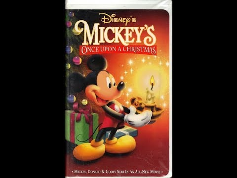 mickey once upon a christmas 1999