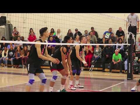 Long Beach City College Men's Volleyball 2018 State Playoffs First Round
