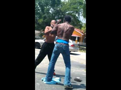 Hood Fight 2 Old Men in Fort Myers