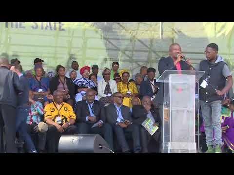 Holomisa, Malema and Maimane address Marikana commemoration