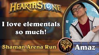 Hearthstone Arena - [Amaz] I love elementals so much!
