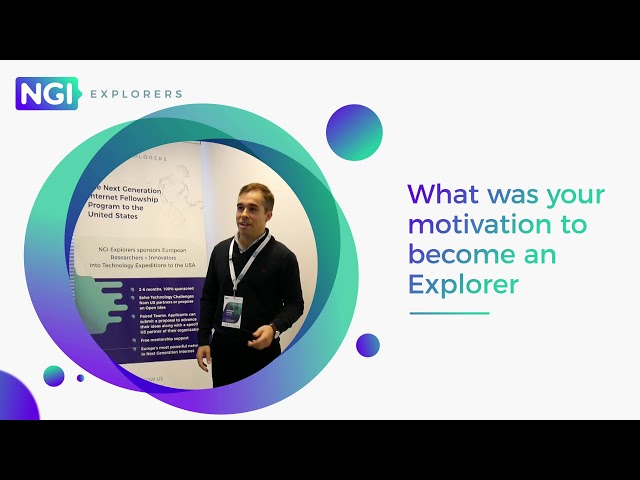NGI Explorers First Expedition: meet the Explorers | Ricardo Carmona