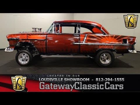 1955 Chevrolet Bel Air Gasser - Louisville Showroom - Stock # 1700