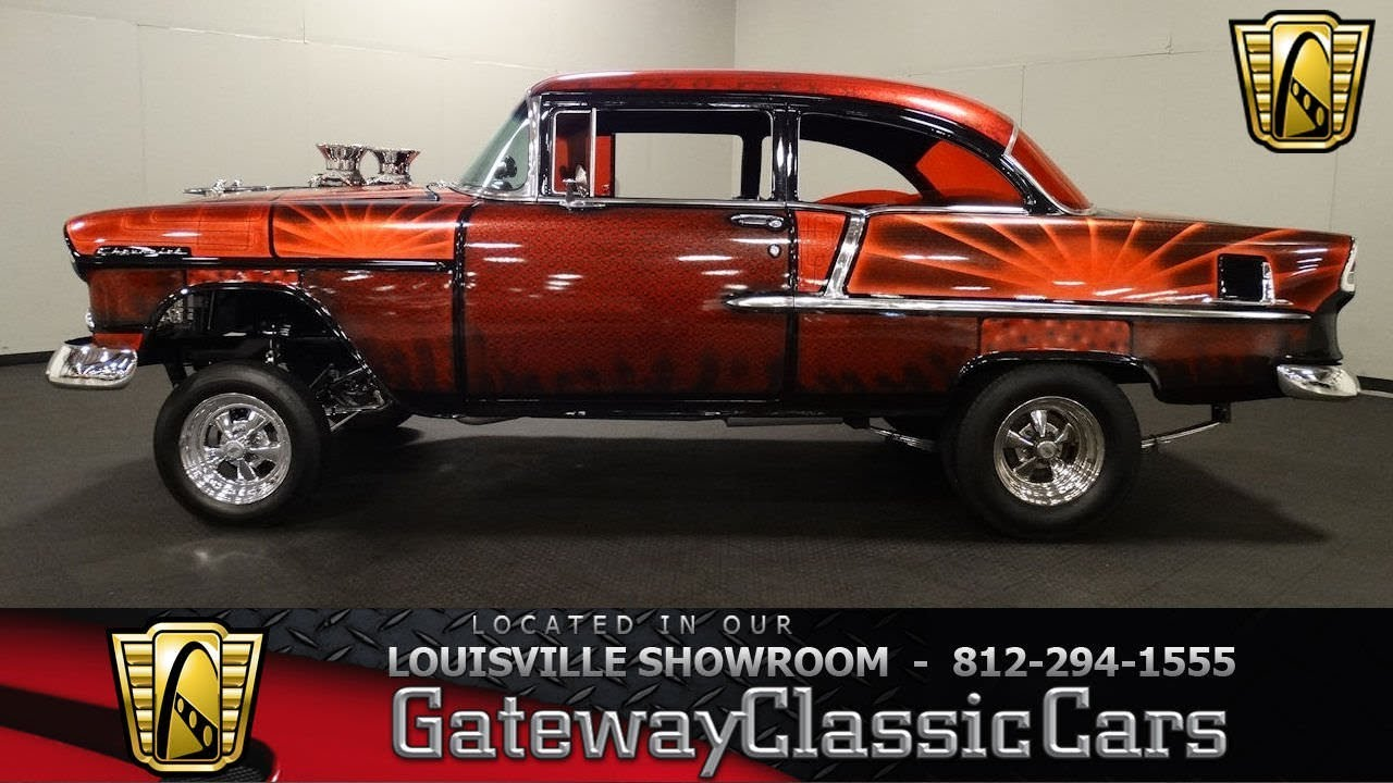 Cars For Sale In Louisville Ky >> 1955 Chevrolet Bel Air Gasser - Louisville Showroom - Stock # 1700 - YouTube