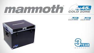 Video Mammoth Cold Zone Fridge/Freezer with Bluetooth Smart Control download MP3, 3GP, MP4, WEBM, AVI, FLV Oktober 2018