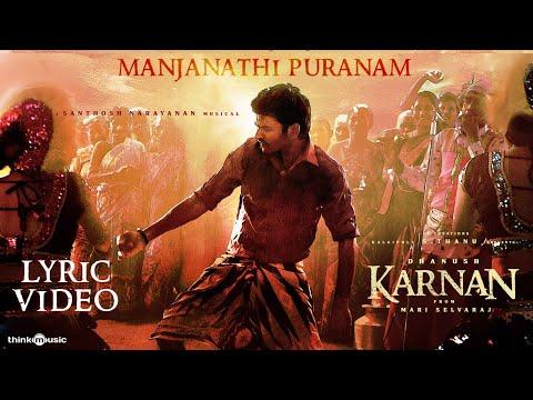 Karnan   Pandarathi Puranam Lyric Video Song   Dhanush   Mari Selvaraj   Santhosh Narayanan   Deva