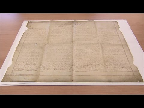 Rare copy of Declaration of Independence found in England