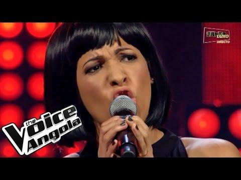 """Yuritze Romero canta """"No Habrá Nadie en el Mundo"""" / The Voice Angola 2015 / Show ao Vivo 3"""