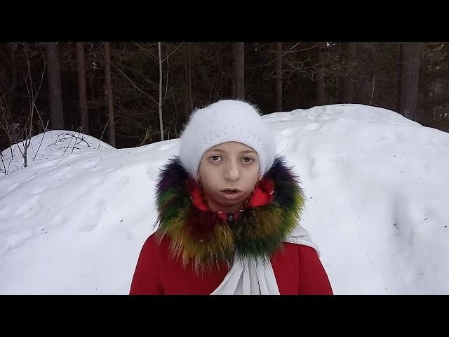 Изображение предпросмотра прочтения – АленаБонадыкова читает произведение «Мама спит» Е.А.Благининой