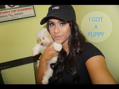 VLOG♡ I Got A Puppy