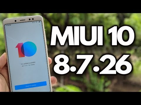 MIUI 10 8.7.26 Redmi Note 5 PRO and Other Xiaomi Phones