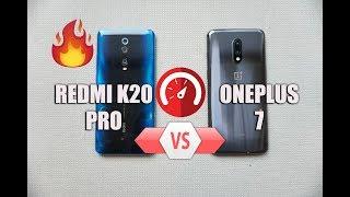 Redmi K20 Pro vs OnePlus 7 Speedtest Comparison- Surprise! 🔥🔥🔥