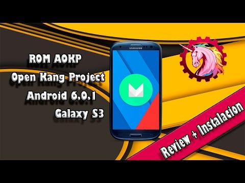 ROM AOKP | OPEN KANG PROJECT | Android Puro 6.0.1 Marshmallow