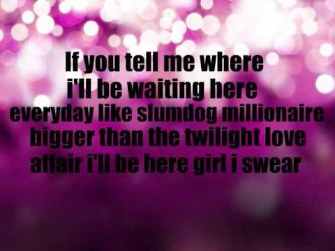 Boyfriend - Big Time Rush (Lyrics on screen]