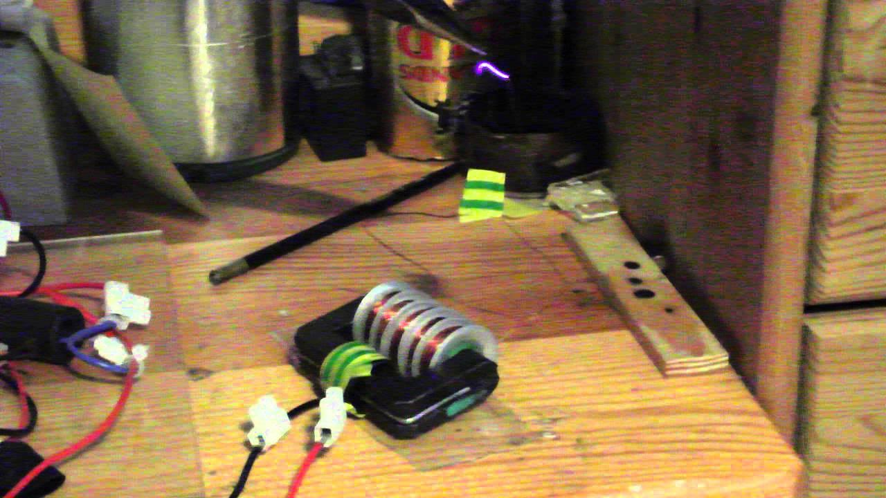 homemade transformer core