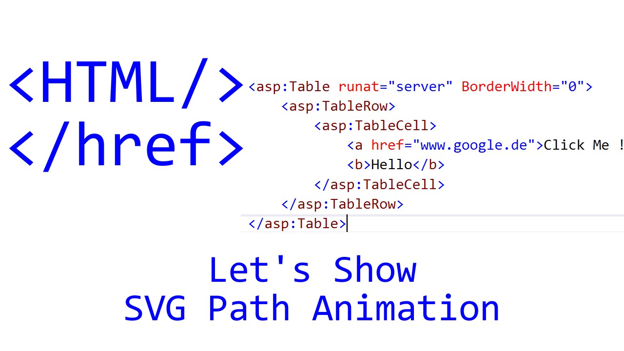 Let's Show #108 - HTML Tutorial - SVG Path Animation | JavaScript | CSS