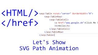 Let's Show #108 - HTML Tutorial - SVG Path Animation | JavaScript | CSS