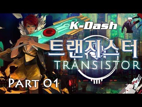트랜지스터 한글] 인디게임 명작 Part 01 레드 Transistor
