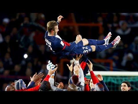 David Beckham: final PSG home game was 'emotional night'