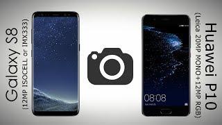 Samsung Galaxy S8 vs Huawei P10 Camera Comparison [Eng subs]