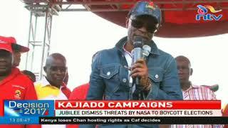Video Jubilee dismisses threats by NASA to boycott elections download MP3, 3GP, MP4, WEBM, AVI, FLV September 2017