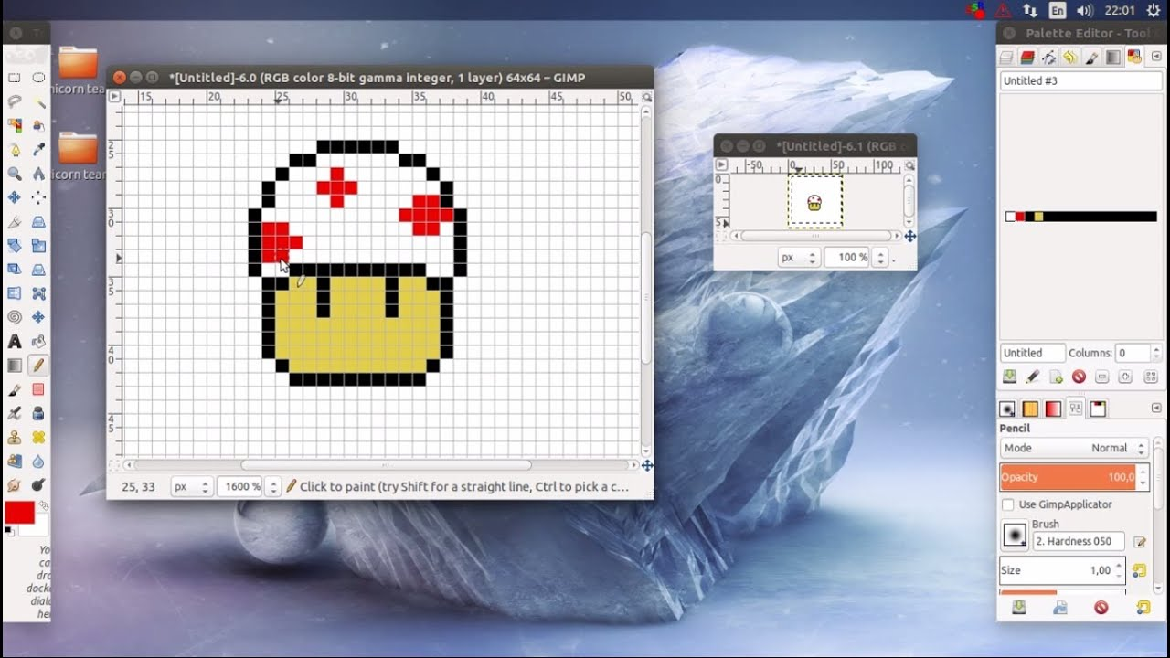How to set up GIMP for pixel art