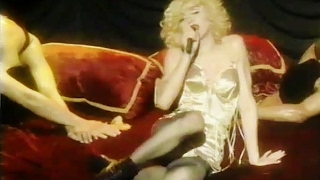 MTV - Madonna at No. 19 with Like A Virgin Live Blond Ambition Tour - 1990 - Film Footage