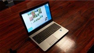 HP ProBook 650 G1 Laptop Unboxing