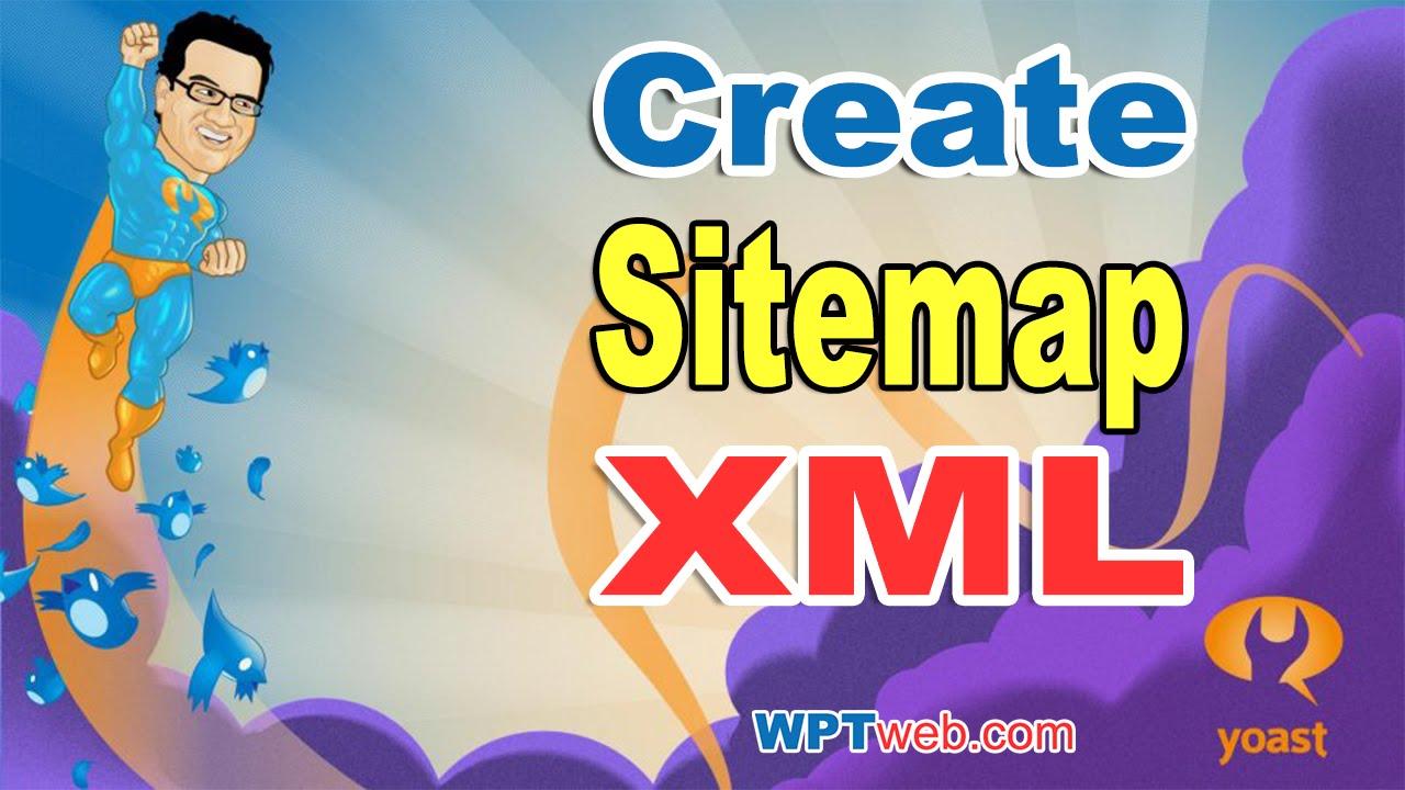create sitemap xml with yoast seo plugin wordpress tutorial 21 youtube