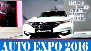 All New Honda Accord 2016 Showcase | Auto Expo 2016 | Video