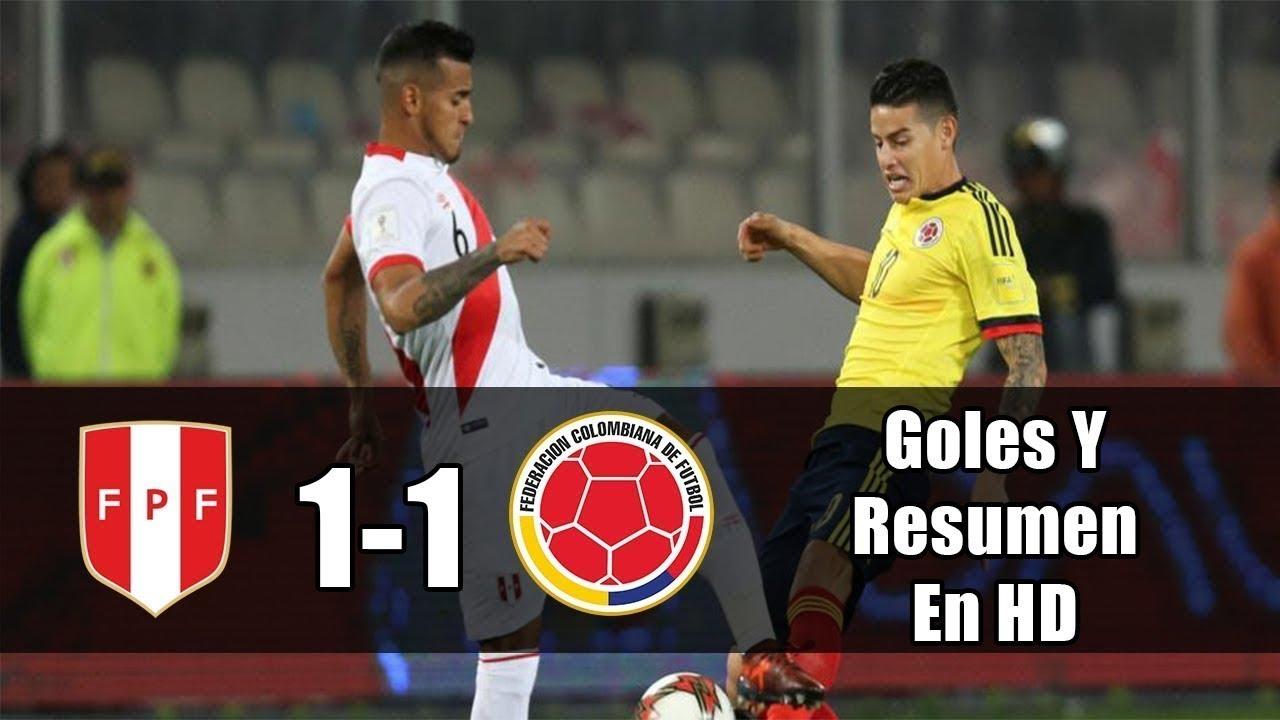 Download PERU VS COLOMBIA - 1-1 - Resumen & Eliminatorias Rusia 2018 10/10/2017 FULL HD