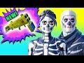 NEW Quad Launcher & Skull Trooper Skins! ⚠️ Fortnite Battle Royale Season 6 Gameplay