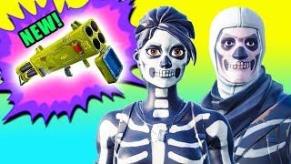 NEW Quad Launcher & Skull Trooper Skins! ⚠️ Fortnite Battle Royale Season 6 Gameplay