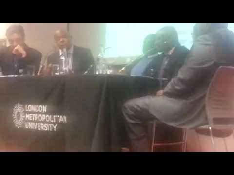 Rt Hon Raila Amolo Odinga @ The London Political Summit Oct 2016 with Maitre Alex Ndive Lisinge.