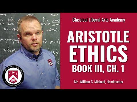 Aristotle, Nicomachean Ethics, Book III, Chapter 1