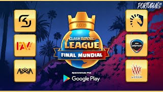 2019 Clash Royale League Final Mundial (Português)