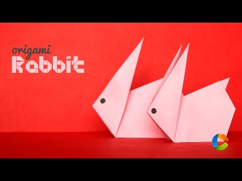 DIY : Origami Rabbit - Easy Paper Craft