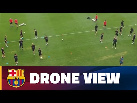 INSIDE TOUR | Barça from the sky with a drone